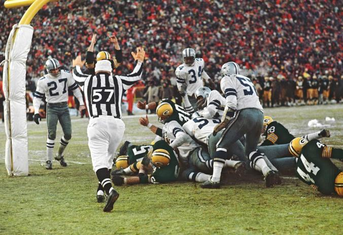 Bart Starr QB Sneak in Ice Bowl