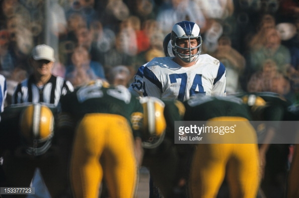 Merlin Olsen vs. the Pack
