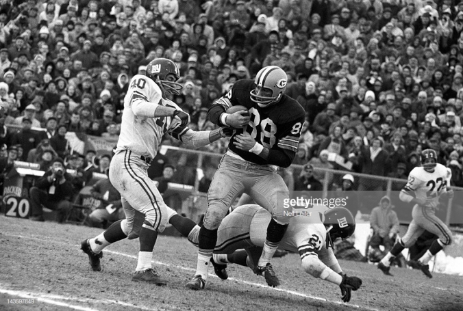 Ron Kramer in 1961 NFL title game
